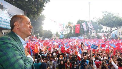 土耳其總統大選 艾爾段自行宣布勝選連任成功