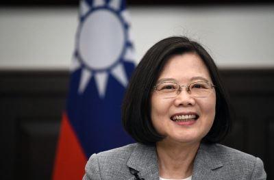 蔡總統:台灣是堅韌之島