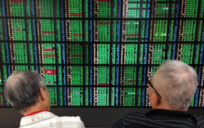 台股收盤大跌112.82點 失守10800點