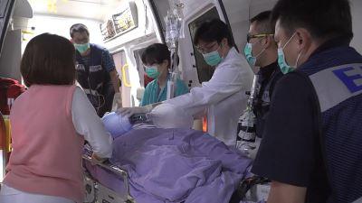 傘兵秦良丰轉台北三總 跨科醫療全力照顧