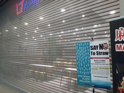 不提供塑胶吸管 新加坡管理大学餐厅响应环保