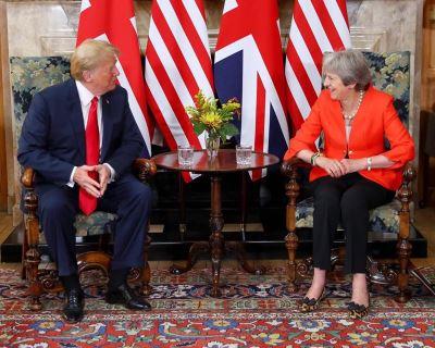 脫歐來狠的 梅伊:川普提議控告歐盟