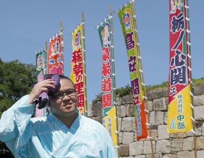 雙重高壓籠罩 日本出現逾39度高溫
