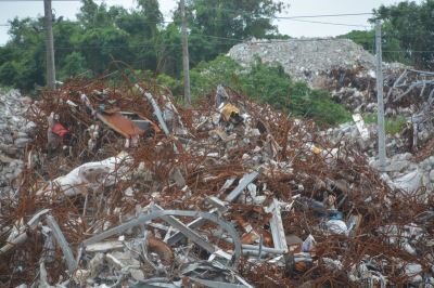 花蓮震災廢棄物8.5萬公噸 分篩清除要花10個月