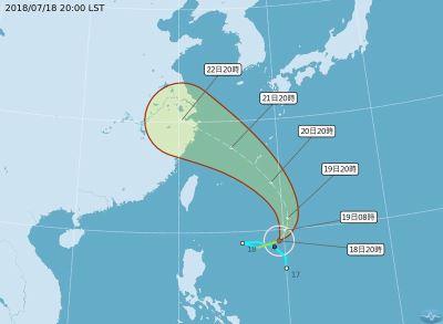 颱風安比形成 週末影響台灣天氣