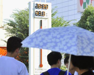 日本逾40度高溫 8人疑似熱死