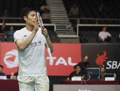新加坡羽球公開賽 男單周天成首輪告捷