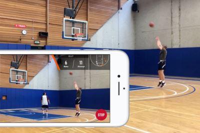 林書豪投資籃球App 手機分析投籃表現