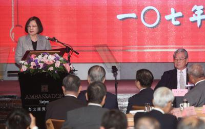 蔡英文:台灣供電無虞 未來發電規劃依產業需求