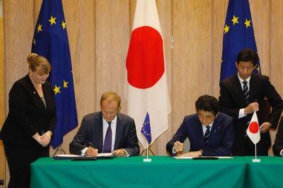 日歐簽EPA 巨大自由貿易圈將誕生