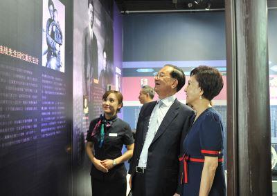 連戰赴杭州  參加連橫紀念館10週年慶