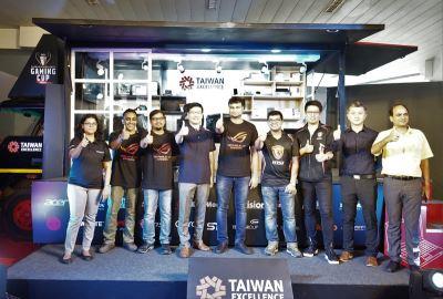 台灣精品電競盃印度啟動 多家台廠首發新品