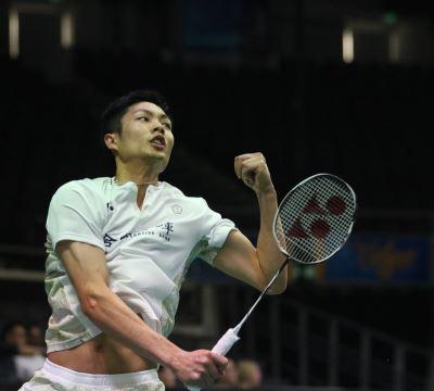 新加坡羽球公開賽 周天成男單晉8強