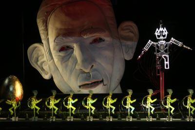 機器裝置演出新歌劇 全新型態詮釋格列佛的夢