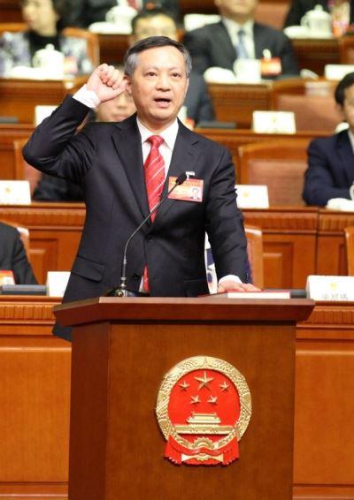 北京紀委任職一年半 張碩輔調任廣州市委書記