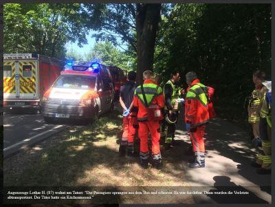 德國北部疑伊朗男子巴士上揮刀 至少14傷