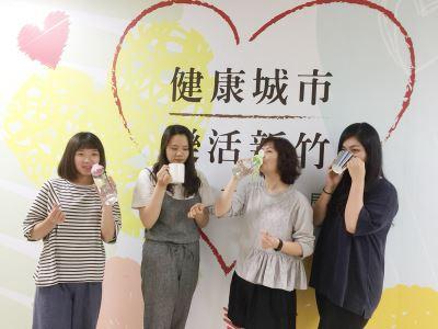 減糖3要訣 竹市衛生局提倡喝水運動