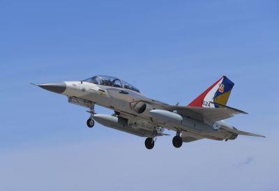 IDF战机降落煞车失效爆胎 人员平安