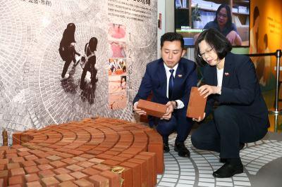 出席新竹博覽會 蔡總統:竹市進步有目共睹