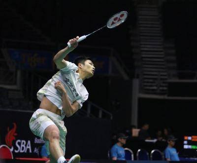 新加坡羽球賽爭冠 周天成全力備戰許仁豪盼正常發揮
