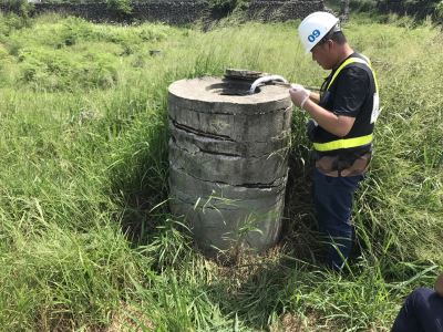 澎湖中油漏油區水井採樣 水體續送台灣檢驗