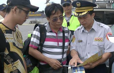 澎湖警局小叮嚀  讓遊客旅途平安快樂