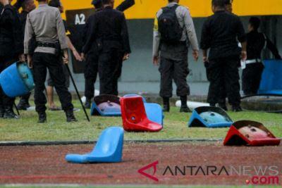 雅加達亞運在即 比賽場地遭球迷破壞