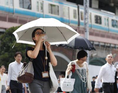 日本東京都高溫飆破40度 觀測史上第一次