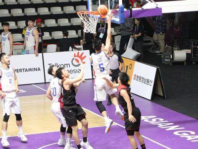 中華男籃強碰日本 亞運首戰逆轉勝