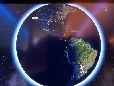 出訪專機路線疑遭中國打壓 總統府:正規航線