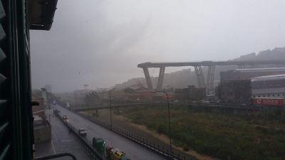 義大利高架道路斷落 恐有數十人喪生[影]