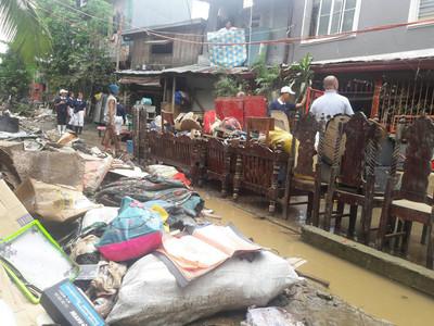 菲國馬尼拉水災 慈濟啟動以工代賑