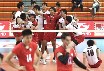 亞洲盃男排負日  中華隊第4名平隊史紀錄
