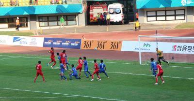 亞運男足中華0比4不敵香港 無緣分組前2
