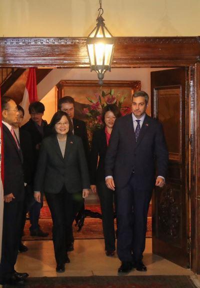 蔡總統會晤阿布鐸 3主軸發展台巴關係2.0版