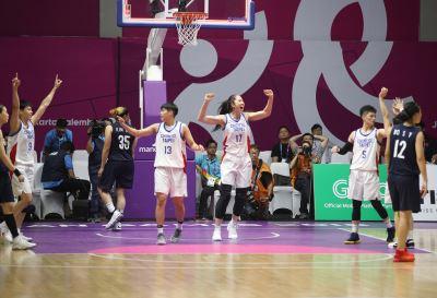 中華女籃勝南北韓聯軍 球員開心樂翻天