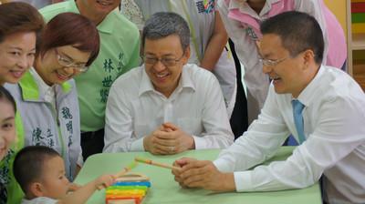 副總統:老人小孩獲照顧 年輕人安心拚經濟