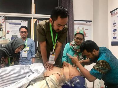 越洋醫療交流 台大醫院雲林分院前進印尼
