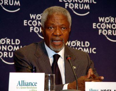 曾獲諾貝爾和平獎 聯合國前秘書長安南過世
