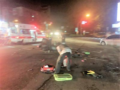 父酒駕騎車撞小黃害死3歲妹 輕傷姐被嚇哭