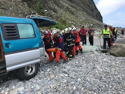 工人墜落蘇花百公尺深懸崖 不幸身亡