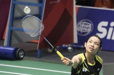 戴資穎領軍打頭陣 亞運羽球女團晉級8強