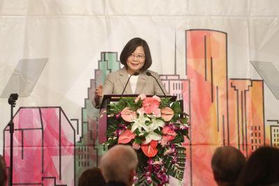 總統:我是國家掌舵者 有信心帶台灣脫胎換骨