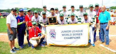 世界次青少棒錦標賽  中華隊蟬聯冠軍獲6連霸