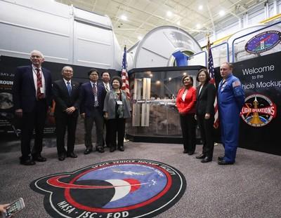 總統參訪NASA 學者:台美關係有意義的進展