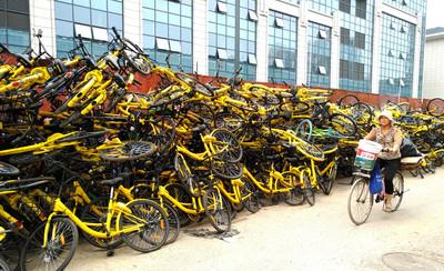 北京共享單車年減2成  民眾卻怨找車難