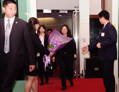 結束同慶之旅返國  蔡總統:任務順利完成