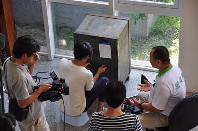 宜蘭百年保險櫃 日本開鎖達人三度挑戰失敗