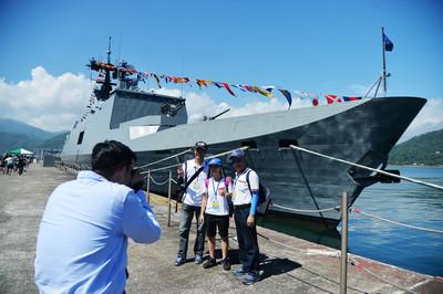 海軍蘇澳基地25日開放 一睹台灣最強戰艦