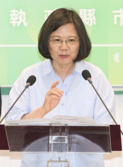 蔡英文:中國打壓台灣不會停止 企圖影響選舉
